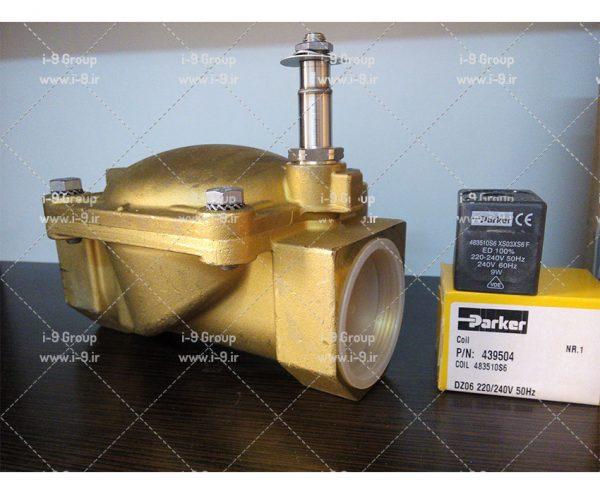 شیر برقی آب پارکر نرمال کلوز 2 اینچ 7321BGN00