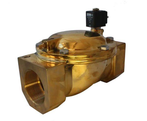 شیر برقی آب پارکر نرمال کلوز 3 اینچ 7321BMN02