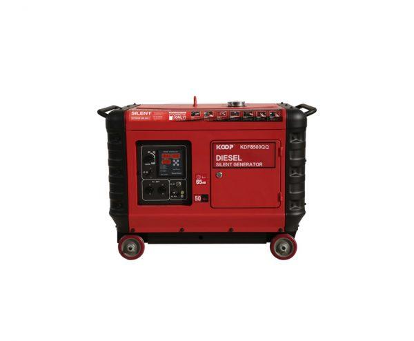 دیزل ژنراتور کوپ مدل KDF 8500QQ