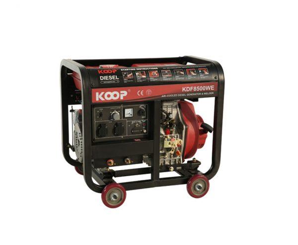 دیزل ژنراتور کوپ مدل KDF 8500WE