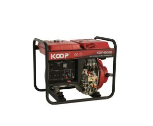 دیزل ژنراتور کوپ مدل KDF 4000 X/XE