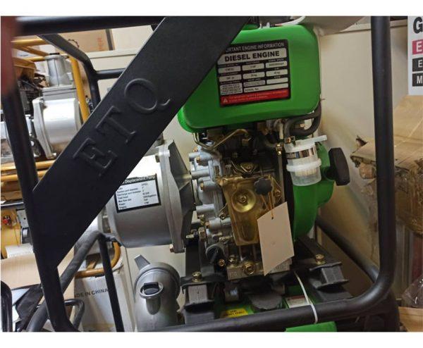 موتور پمپ دیزلی 2 اینچ ETQ مدل DP2CL